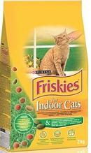 Корм ФРИСКИС FRISKIES для кішок INDOOR садової травою для домашніх кішок 1,5 кг