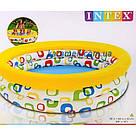 Надувной бассейн для детей Intex 58449 «Волны» 168*41см, бассейн интекс, детский бассейн, бассейн для дачи, фото 3