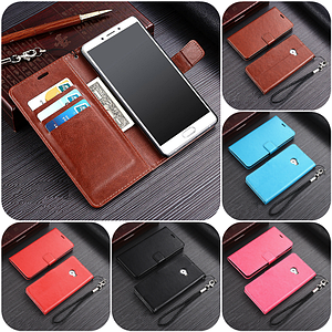 """Xiaomi Mi Note 2 оригинальный кожаный чехол книжка ПРЕМИУМ кожа магнитная фиксация противоударный  """"KZH"""""""