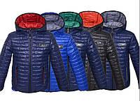 Демисезонная куртка двусторонняя для мальчиков и подростков, размеры на рост 98 - 164, фото 1
