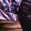 Сиреневая весенняя куртка для полных женщин Зарина, фото 3