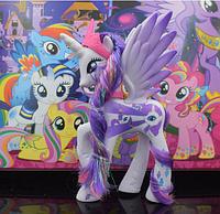 Пони 14 см. My Little Pony Мой маленький пони Рарити Игрушка для девочек Единорог, фото 1