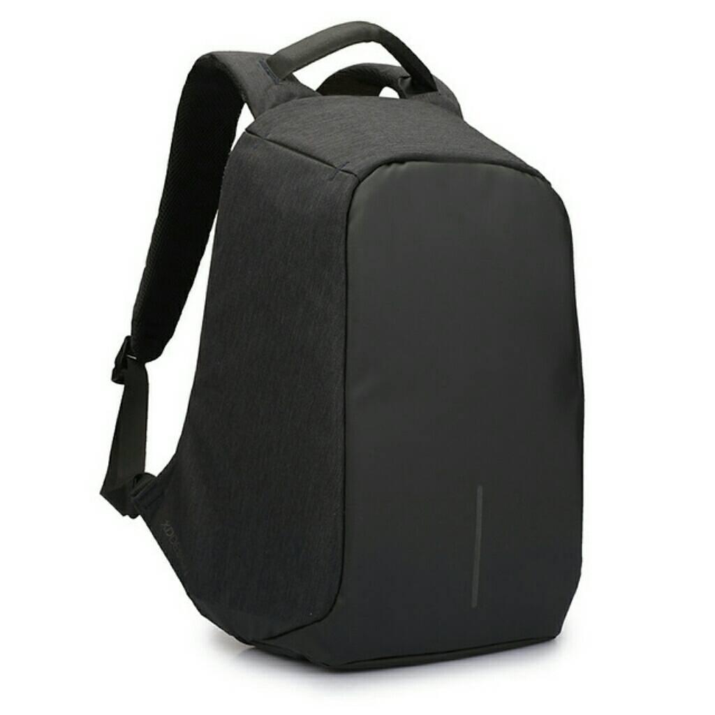 Рюкзак портфель travel bag Bobby антивор с зарядкой power bank USB BLACK
