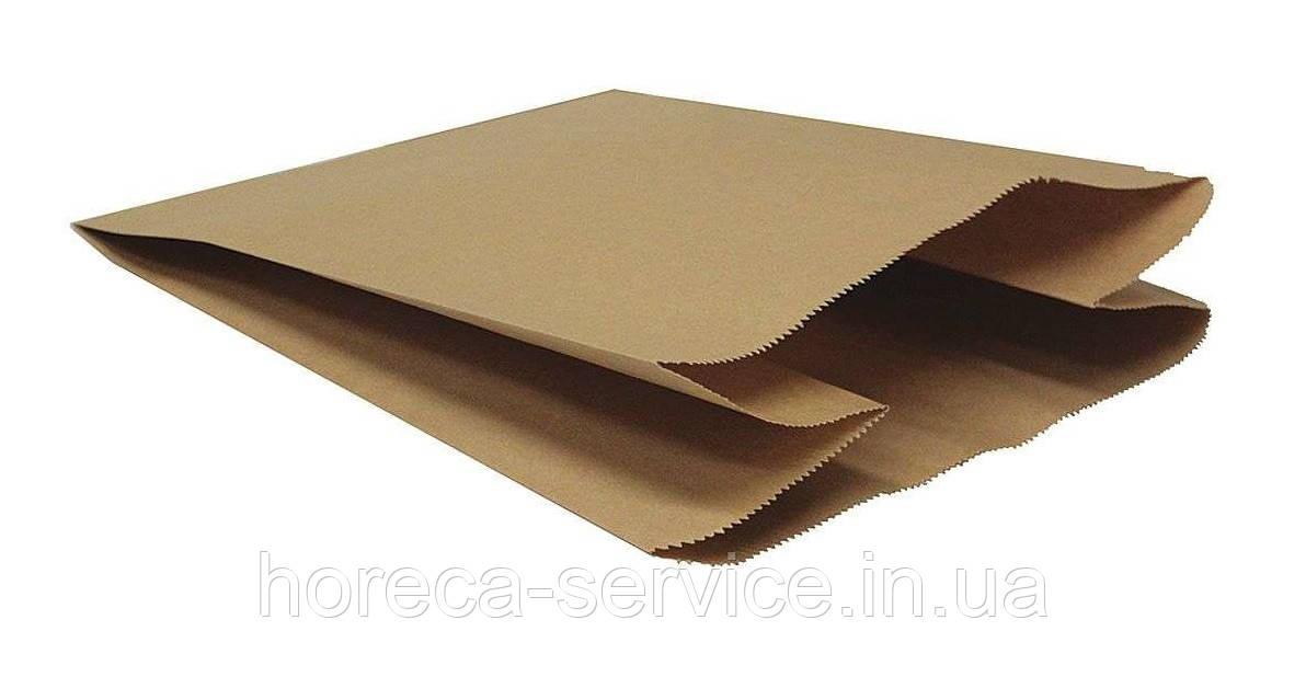 """Пакет бумажный """"Саше"""" 230х200х40 крафт 100шт."""