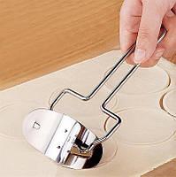 Валик для нарезки теста кругами, нож для нарезки пельмений и вареников