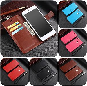 """Xiaomi Redmi Note 5A оригинальный кожаный чехол книжка кошелёк с карманами мраморная кожа на телефон """"LUXON"""""""