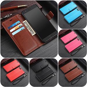 """Xiaomi Mi Note 3 оригинальный кожаный чехол книжка кошелёк с карманами мраморная кожа на телефон """"LUXON"""""""