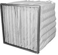 Воздушный фильтр для вентиляции ФяК G4 592х592х300-6к
