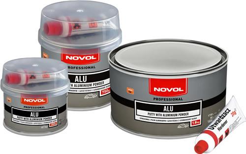 Novol ALU Шпатлевка с алюминиевой пылью, вес 0,75 кг