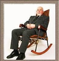 Удобная кресло качалка складная , фото 1