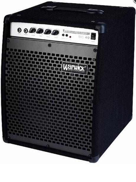 Комбоусилитель для бас-гитары WARWICK BC40 Басовый комбоусилитель