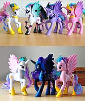 Пони 14 см. My Little Pony Мой маленький пони Игрушка для девочек Единорог, фото 1