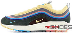 Женские кроссовки Nike Air Max 1 97 Sean Wotherspoon AJ4219-400, Найк Аир Макс 1 97