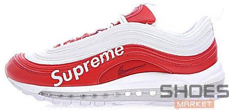 e3bcc7eb Мужские кроссовки Nike Air Max 97 X Supreme White Red купить в ...