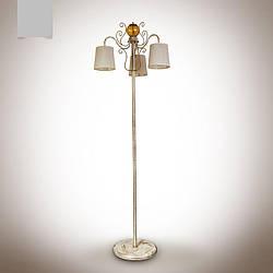 Напольный торшер 3-х ламповый с абажурами 14530