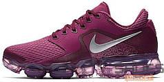 Женские кроссовки Nike Air Vapormax CS Tea Berry/Bordeaux/Tea Berry/Metallic Silver, Найк Аир Вапор Макс