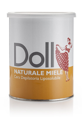 """Теплый воск для депиляции в банке Doll """"Золото"""", 800 мл (Xanitalia) Италия"""