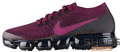 Женские кроссовки Nike Air Vapormax Flyknit Black Purple, Найк Аир Вапор Макс
