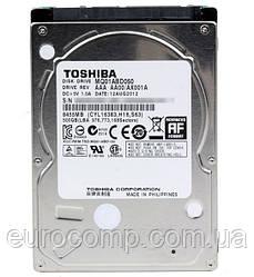 Жесткий диск б/у 500GB 2.5'' Toshiba для ноутбука или внешнего кармана