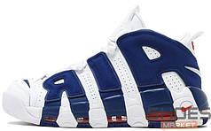 Женские кроссовки Nike Air More Uptempo Knicks 921948-101, Найк Аир Мор Аптемпо