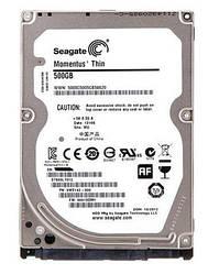 Жесткий диск б/у 500GB 2.5'' Seagate для ноутбука или внешнего кармана, тонкий