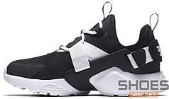 Мужские кроссовки Nike Air Huarache City Low Black/Summit White/Barely Rose AH6804-013, Найк Аир Хуарачи
