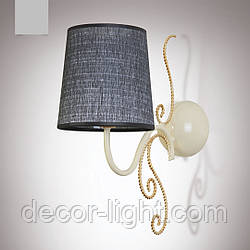 Бра, настінний світильник з абажуром 14501-1