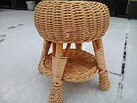 Стол маленький на балкон плетеный, фото 1