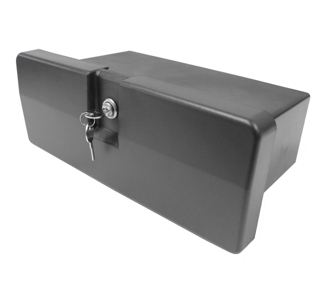 Ящик перчаточный (бардачок), черный
