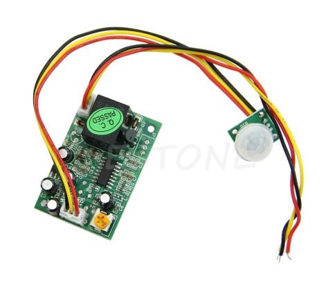 Выносной Pir sensor 12v Инфракрасный датчик движения 12v