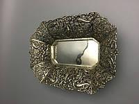 Старинная ваза из серебра  19 век серебро антикварная Секребряная ваза кубок конфетница фруктовница