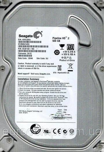 Жесткий диск б/у 500GB 3.5'' Seagate для компьютера или медиасервера