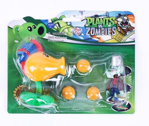 Игрушка Растения против зомби петушок Фирменная упаковка Plants vs zombies