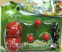 Іграшка Рослини проти зомбі вишні Фірмова упаковка Plants vs zombies