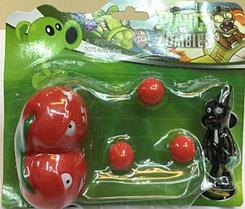 Игрушка Растения против зомби вишни Фирменная упаковка Plants vs zombies