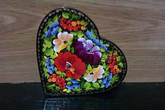 Оригінальна шкатулка у формі серця