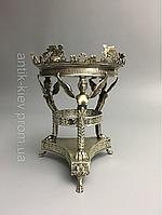 Старинная ваза из серебра 19 век антикварная Серебряная ваза кубок