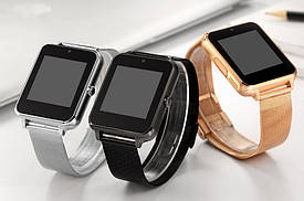 Умные часы Smart Watch Z60 Turbo c метал.ремешком