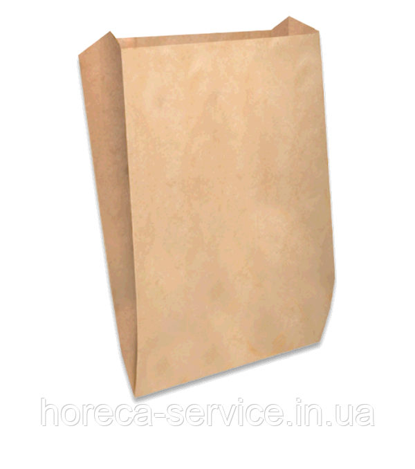 """Пакет бумажный """"Саше"""" 340х220х60 крафт 100шт."""