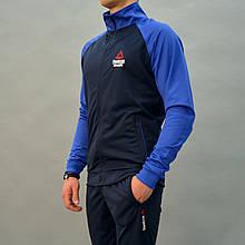 Размеры: 46,48. Мужской спортивный костюм Reebok Crossfit (Рибок)   Турция, Трикотаж-лакост