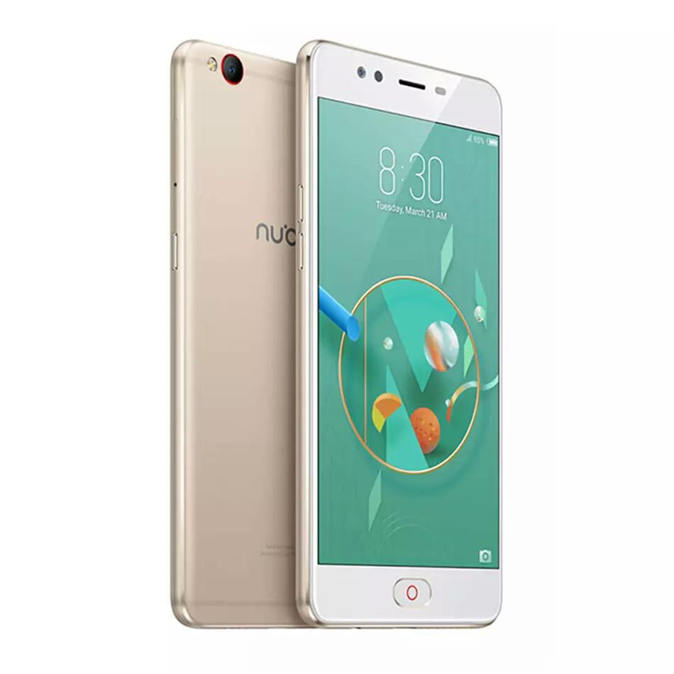 Смартфон ZTE Nubia M2 Lite 3\64Gb Gold