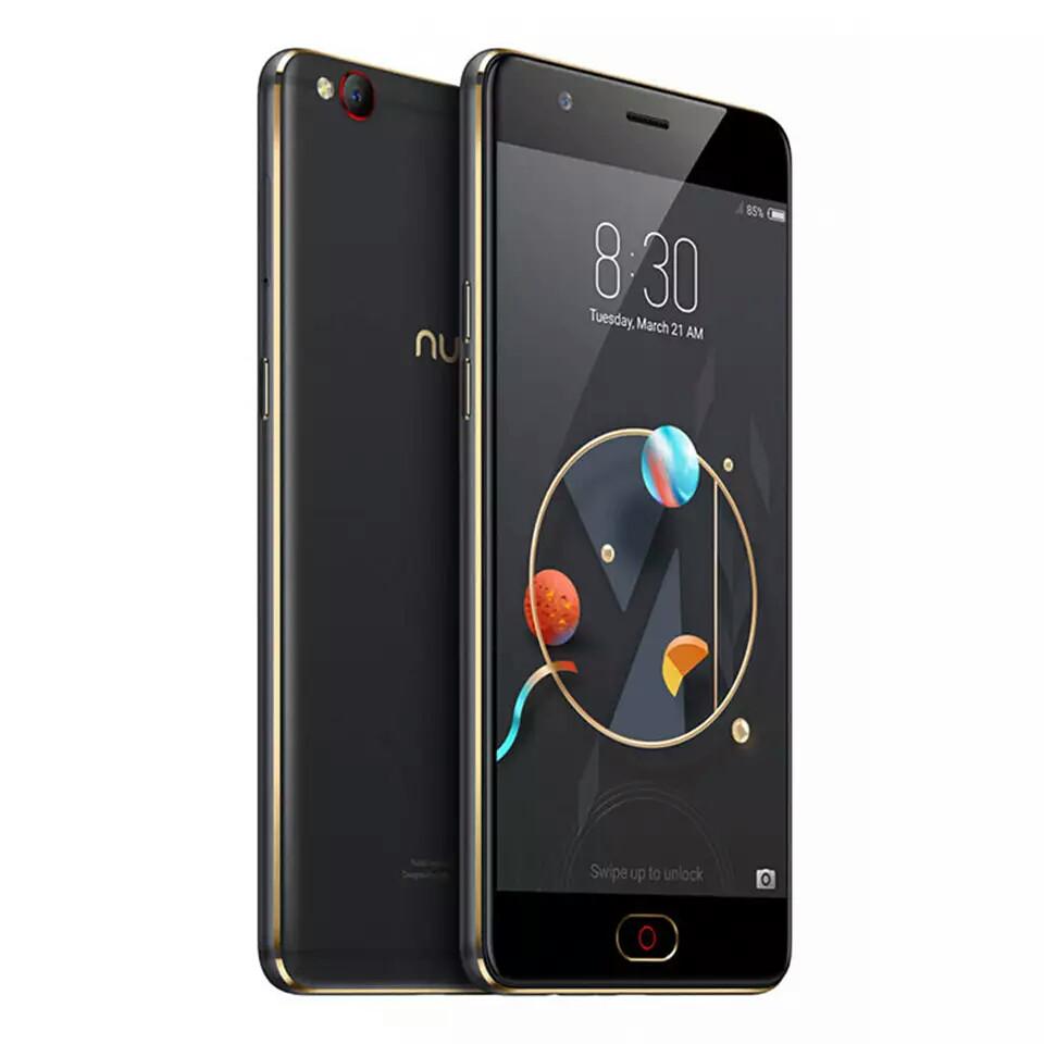 Смартфон ZTE Nubia M2 Lite 3\64Gb Black
