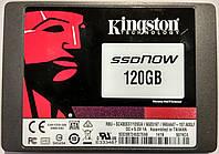 "SSD Kingston MLC 120Gb 2.5"" SATAIII (RBU-SC400S37/120GA) как новые"