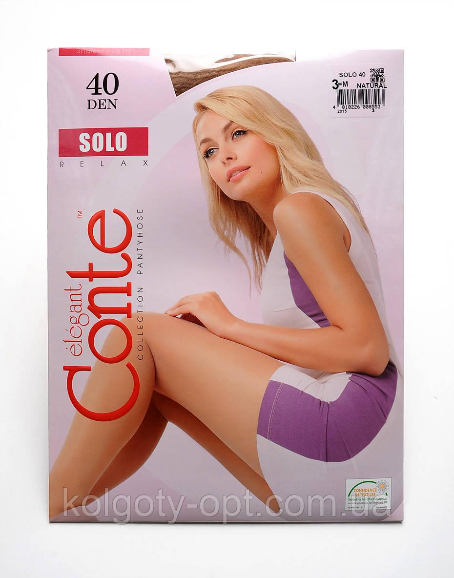 Жіночі колготки Conte Solo 40 den