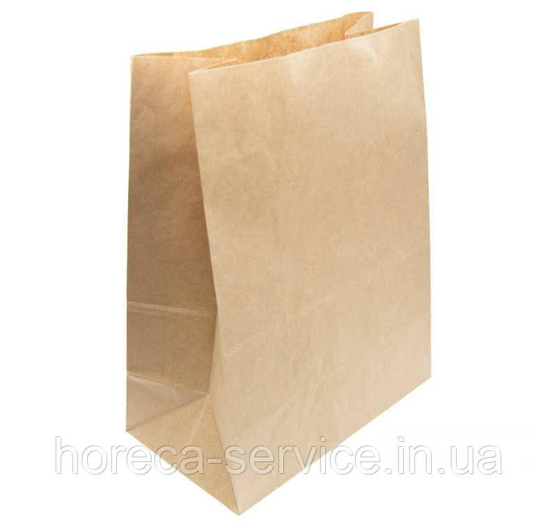 Пакет бумажный на доставку 350х250х140 мм.