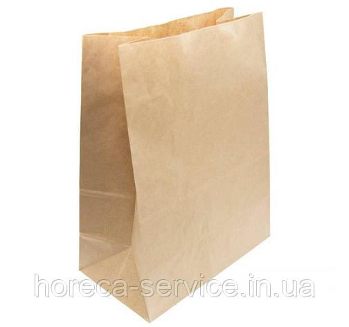Пакет бумажный на доставку 350х250х140 мм., фото 2