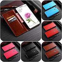 """Xiaomi Mi MAX оригинальный кожаный чехол книжка кошелёк с карманами мраморная кожа на телефон """"LUXON"""