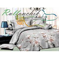 Красивый комплект постельного белья Орхидея