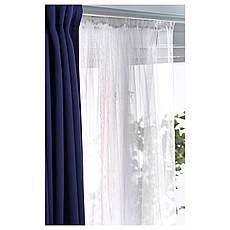 ЛИЛЛЬ Гардины, 2 шт., белый, 280x300 см 10070262 ИКЕА, IKEA, LILL, фото 2