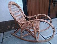Кресло качалка детская из лозы, фото 1